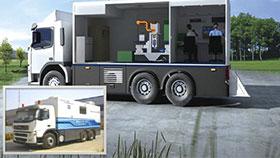 IS0300 车载式电子束辐照安全系统-厦门邮箱辐射系统